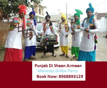 For Punjabi Cultural Function