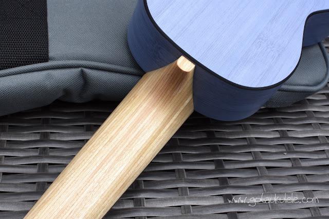 Martin OX Bamboo Soprano Ukulele neck