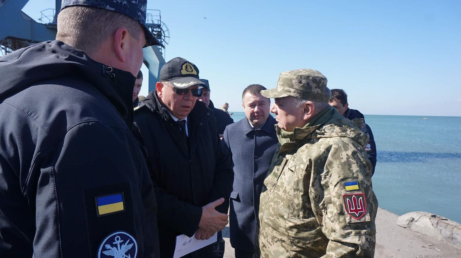 Бердянськ і надалі розглядається як потенційна база ВМСУ