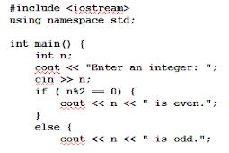Cara Mengecek & Memeriksa Nomor Genap dan Ganjil di Pemrograman C++