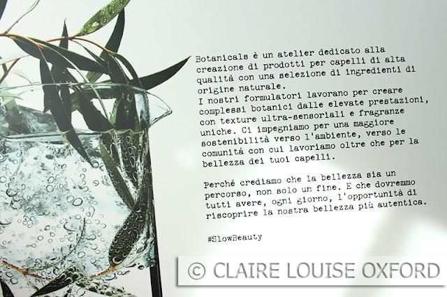Descrizione della linea Botanicals Fresh Care Coriandolo di L'Oreal