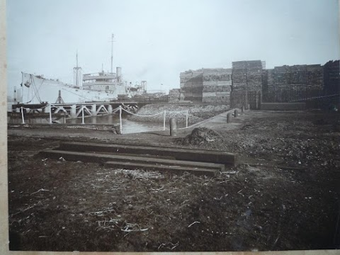 SS Wye Tempest at Christie's Wharf 1921
