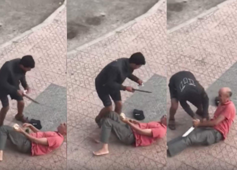 بعد الفيديو الصادم.. أمن البيضاء يوقف اللص الذي هاجم مسنا وسلبه ثمن كبش العيد