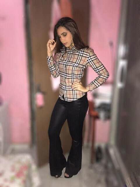 Katarinne Farías no giro da moda 2017