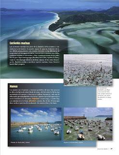 Apoyo Primaria Atlas de Geografía del Mundo 5to. Grado Capítulo 2 Lección 2 Corrientes Marinas, Mareas