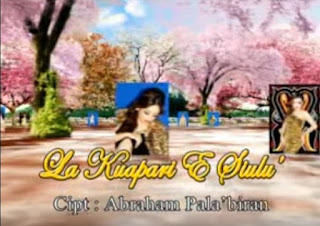 Lirik Lagu La Kuapari E Siulu' (Yenni Paseru)