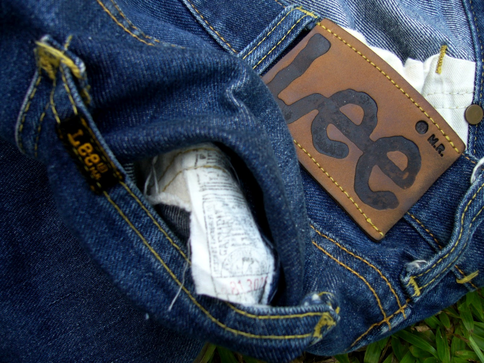 539bb049 Wish You Were Here: Vintage Lee 101B Union Made Jeans