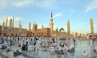 600.000 Jamaah Haji Kelompok Pertama Telah Tiba di Madinah