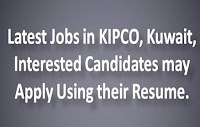Latest Jobs in KIPCO
