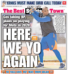 Mets take rare November back page