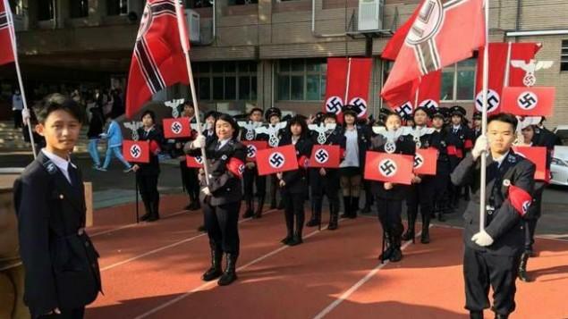 Taiwan-desfile-nazi
