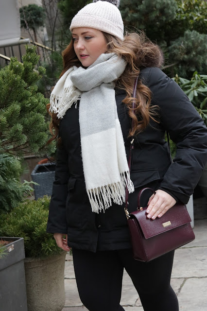 winter kate spade purse