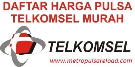 Inilah Daftar Harga Pulsa Telkomsel Nasional Termurah di Metro Reload