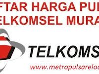 Inilah Daftar Harga Pulsa M-KIOS Telkomsel Nasional Termurah di Metro Reload