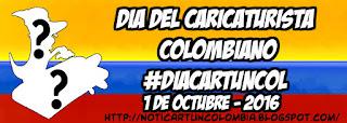 CONVOCATORIA CELEBRACIÓN DÍA DEL CARICATURISTA NOTICARTUN 2016 #DiaCartunCol