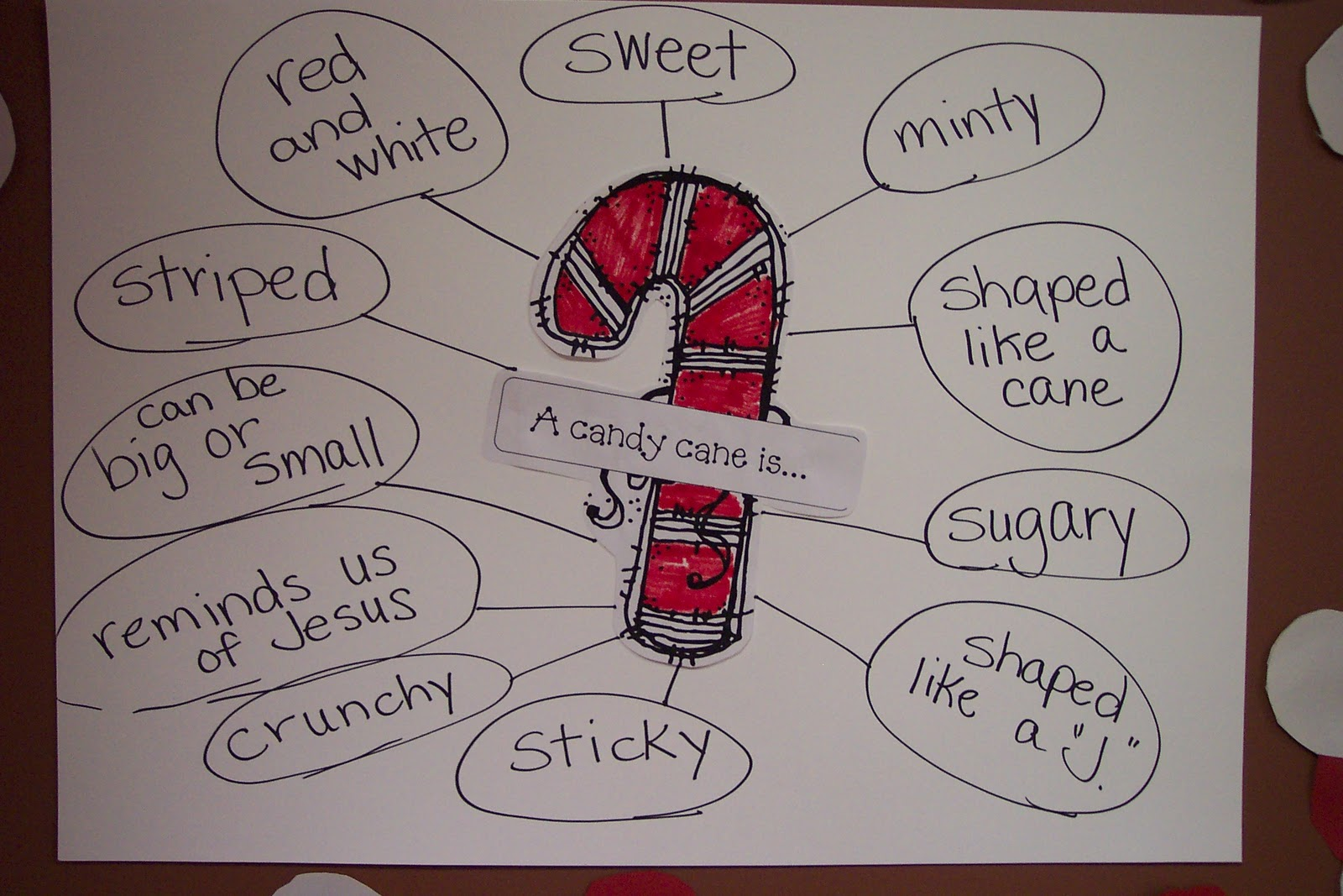 Kinderdi Candy Cane Writing