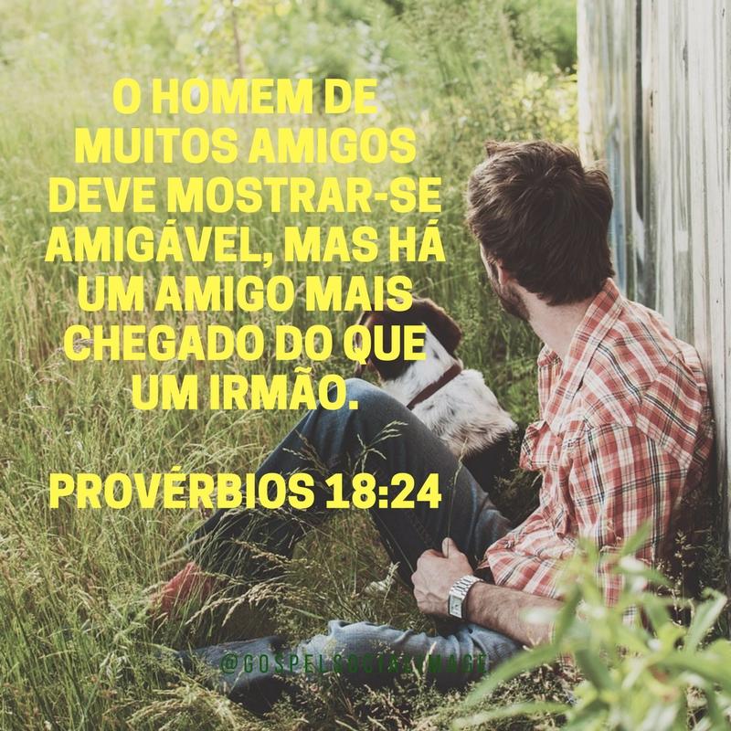 Imagem Bíblica Amizade Verdadeira