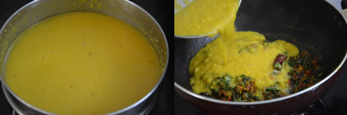 methi dal fry recipe