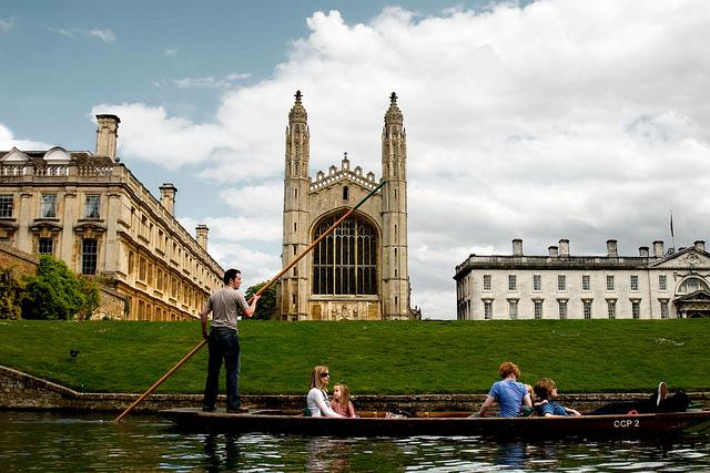 Кембриджский Университет в Великобритании, история и фото