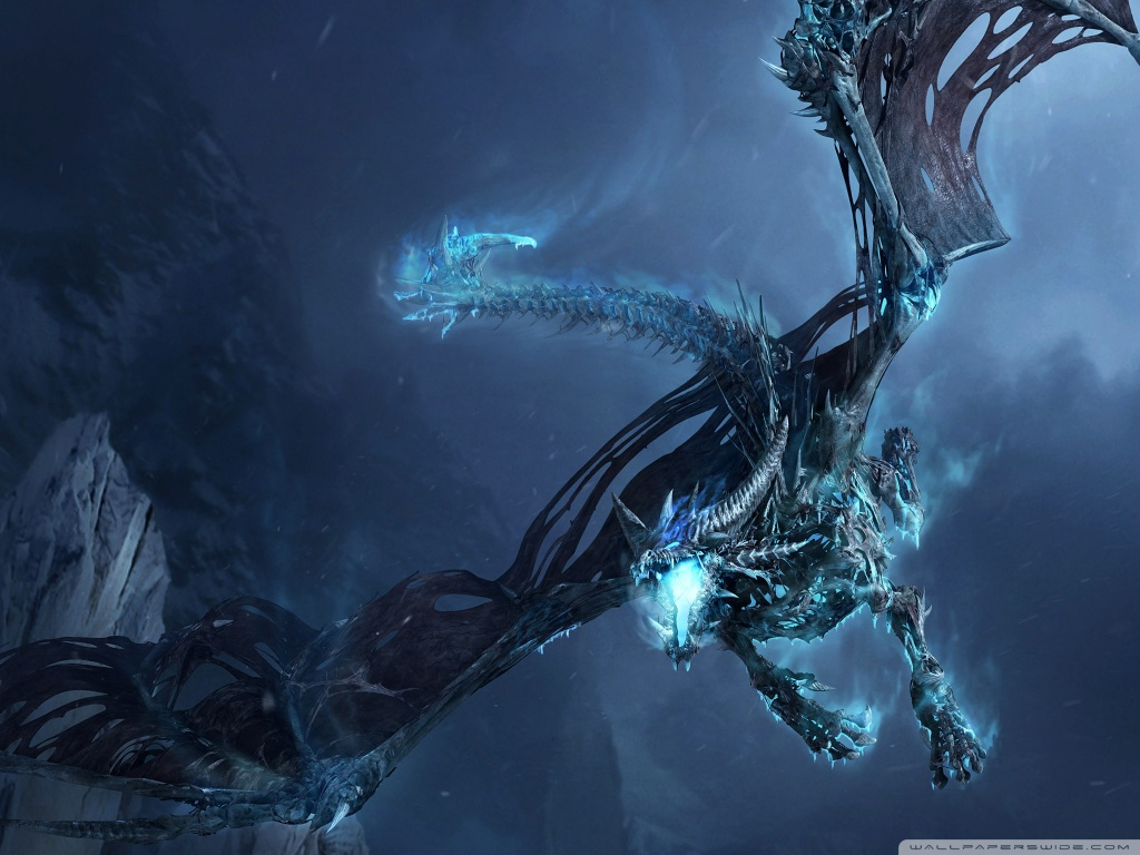 world of warcraft ice dragon wallpaper