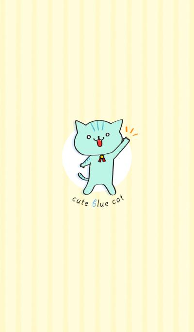 cute blue cat!