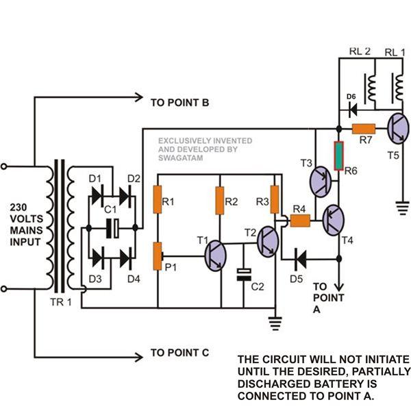 mini power supply circuit b2b electronic components
