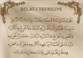 Salat-ı Tefriciye Hacet Duasi