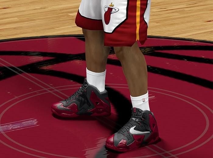 316890311a5c6 NBA 2K14 Nike LeBron XI Shoes  RGB  - NBA2K.ORG
