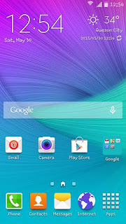 Samsung S6 Screenshots