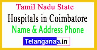 Hospitals in Coimbatore Tamil Nadu