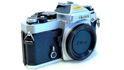Nikon FE (Chrome) Body #338
