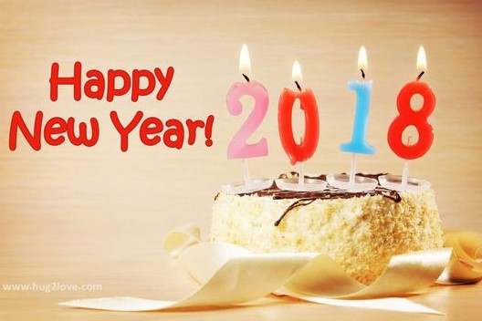 happy new year 2018 cake hd images