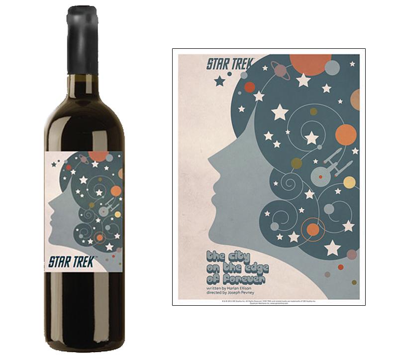 Star Trek Wine The City on the Edge of Forever