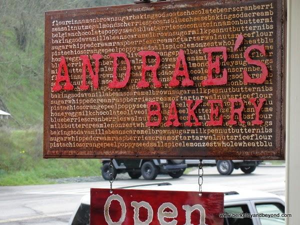 Andrae's Bakery in Amador City, California