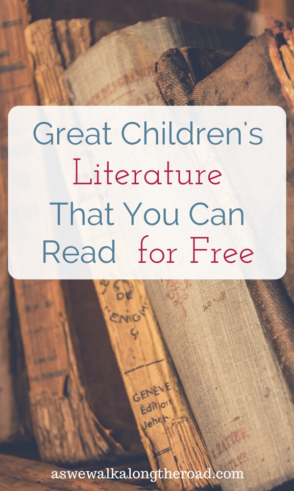 Great children's literature you can read for free
