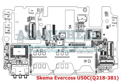 Skema Evercoss U50C(Q218-381)