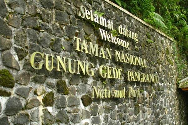 Taman NAsional Gunung Gede Pangarango