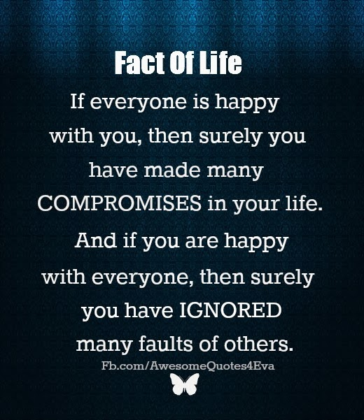 Awesome Quotes: Fact Of Life