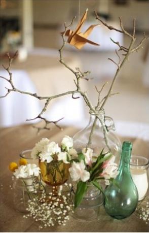 idéias simples de decoração para o Ano Novo
