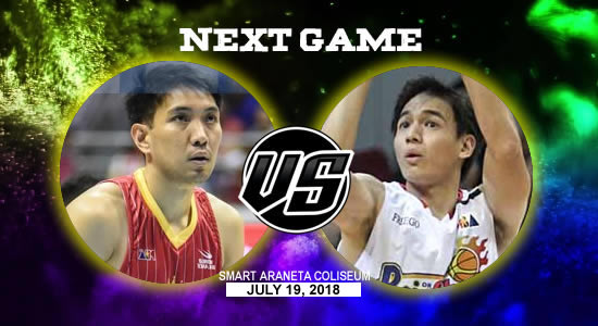 List of PBA Game(s): July 19 at Smart Araneta Coliseum 2018 PBA Commissioner's Cup