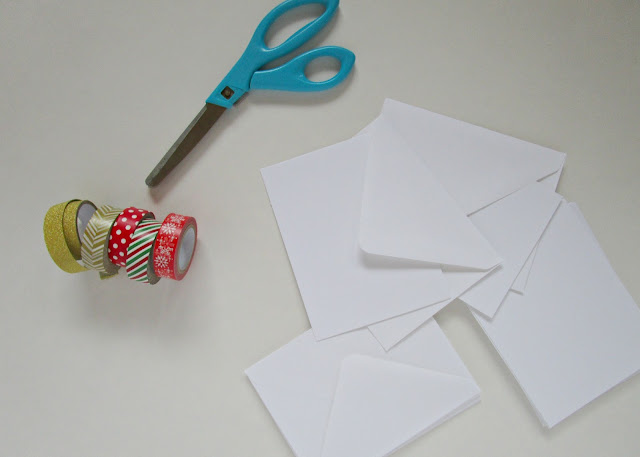 DIY Holiday Cards | Super simple handmade Christmas cards that anyone can make from courtneylthings.blogspot.com