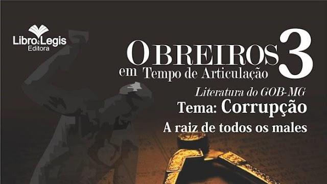 """Lançamento 3º Volume da série """"OBREIROS EM TEMPO DE ARTICULAÇÂO"""""""