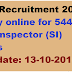 KSP Recruitment 2016 Apply online for 544 Sub-inspector (SI) Posts