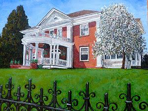 Highland Homestead in Boulder Colorado by Boulder artist Tom Roderick