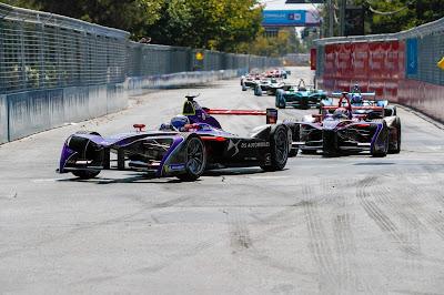 El equipo DS Virgin Racing pone rumbo al ePrix de México.