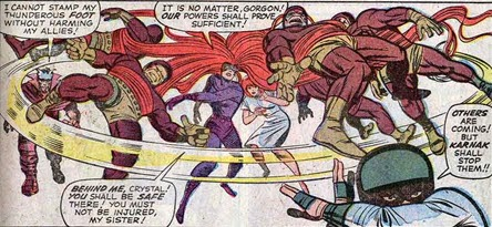 Fantastic Four 47-Medusa-Crystal