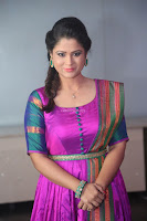 Shilpa Chakravarthy in Purple tight Ethnic Dress ~  Exclusive Celebrities Galleries 039.JPG