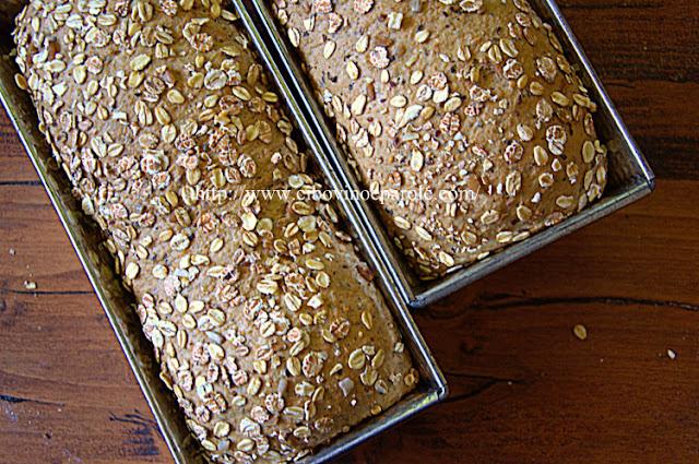 pane nello stampo del plumcake