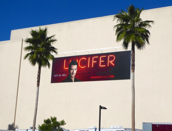 Lucifer series billboard