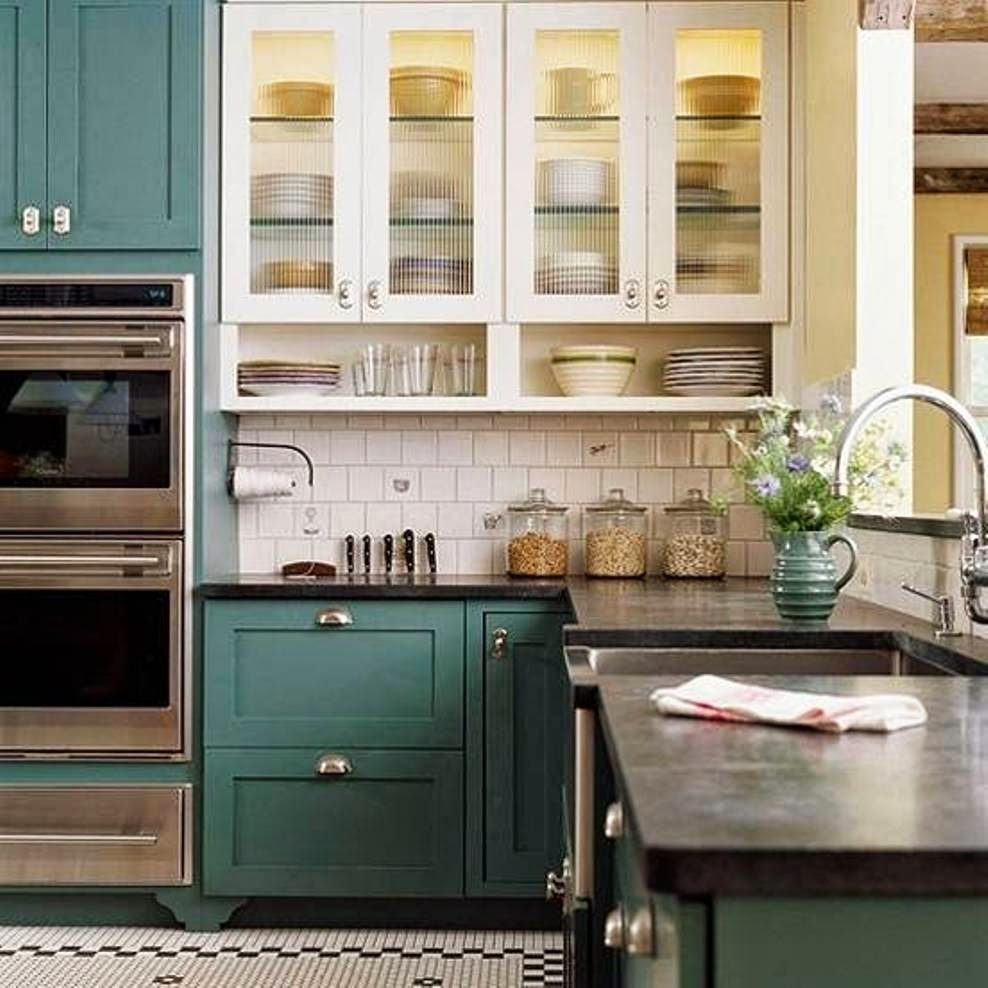 Kitchen Cabinet Color: Abby Manchesky Interiors: Slate Appliances + Plans For Our